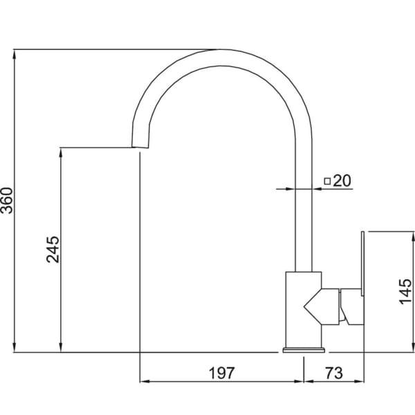 Vòi rửa Malloca MF-040