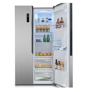 Malloca Tủ lạnh Side by Side MF-517SBS 2 cửa- Tay nắm âm