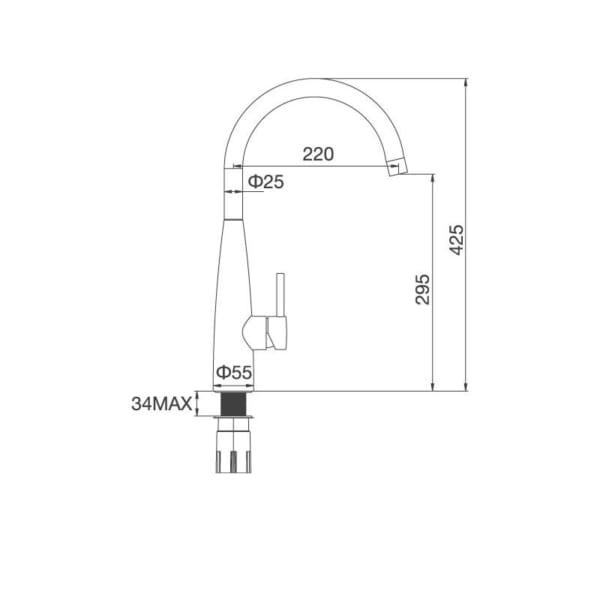 Vòi Inox 304K529S