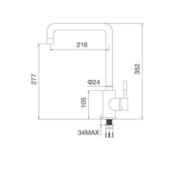 Vòi Inox 304K559S