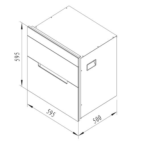 Máy sấy, tiệt trùng chén đĩa MSC-100A