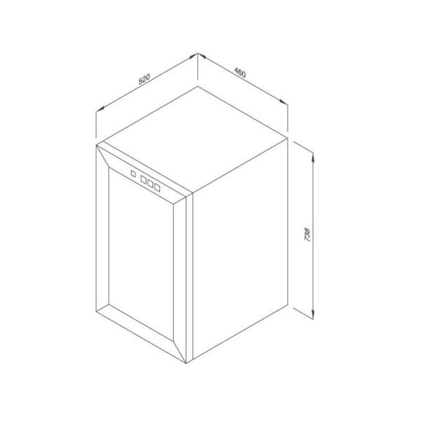 Tủ Bảo Quản Rượu Độc Lập MWC-65B