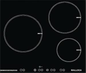 Malloca MH-03I có công suất toàn bếp là 7.6kW