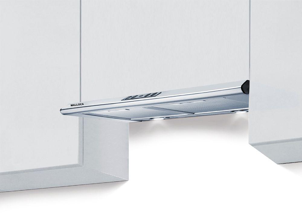 Máy hút mùi âm tủ Malloca H116 được trang bị bộ lọc mỡ bằng than hoạt tính