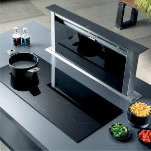 Máy hút mùi âm bàn Malloca K3410DR phù hợp với những gia đình có không gian chật hẹp